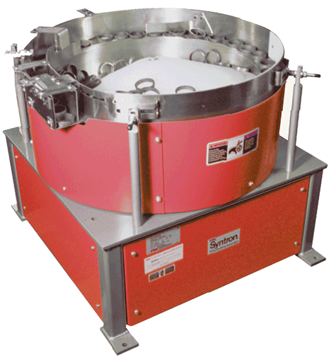Rotary Feeder for parts handling equipment